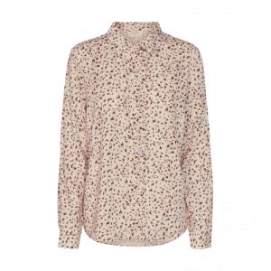 Skjorte med blomsterprint