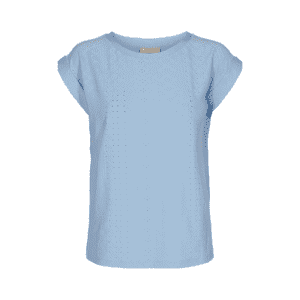 Lyseblå t-shirt